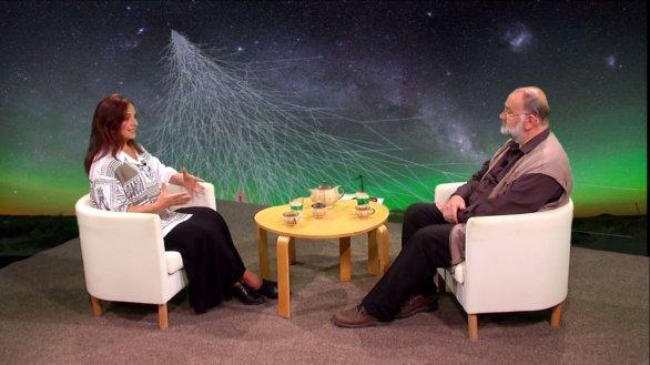 RNDr. Martina Boháčová, Ph.D. v pořadu Hlubinami vesmíru Autor: TV Noe