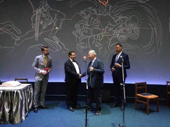 Předání ředitelské funkce - vlevo Jakub Rozehnal, vpravo Marcel Grün Autor: Pavel Suchan