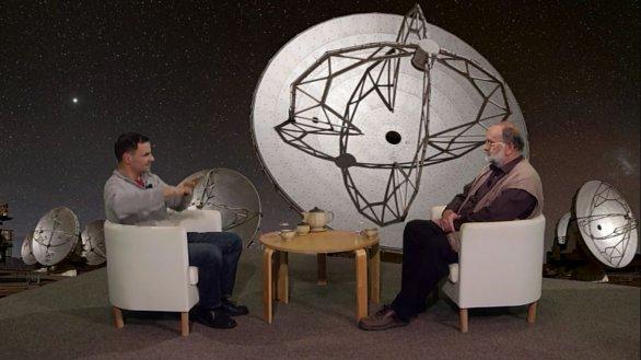 Mgr. Miroslav Bárta, PhD. v pořadu Hlubinami vesmíru Autor: TV Noe