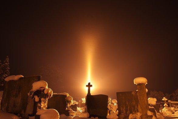 Třetí místo v soutěži Neklidné nebe: Osvícení. Autor: Matěj Grék.