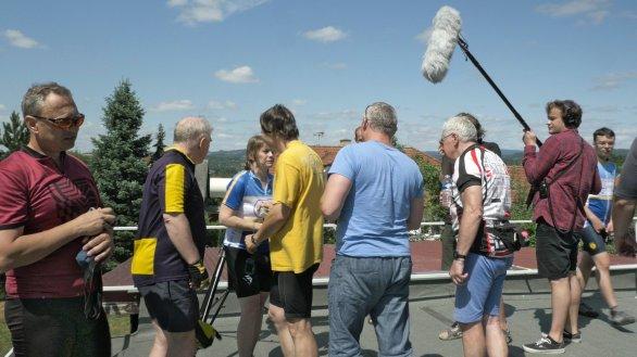 Natáčení filmu Grygar Autor: Slezská univerzita v Opavě