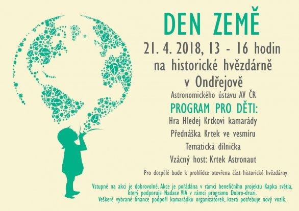 Den Země 2018 na hvězdárně v Ondřejově