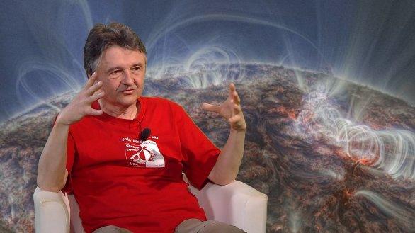 Prof. Miloslav Druckmüller vypráví o snímcích koróny v TV Noe