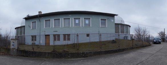 Původní budova teplické hvězdárny Autor: O. Šándor