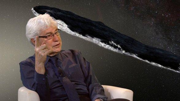 Jiří Grygar v pořadu Hlubinami vesmíru na TV Noe