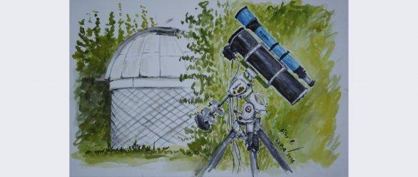Nálady na Astronomické expedici 2018 Autor: Kristína Kallová
