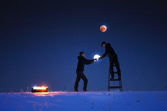 Snímek Mesiačný servis. Autor: Pavol Kostolný
