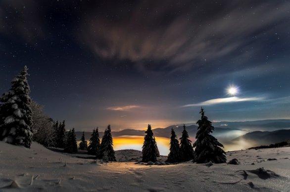 Snímek Hory za svitu mesiaca. Autor: Martin Kurka