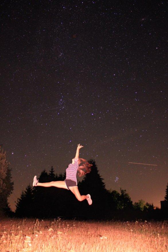 Snímek Na skok do prázdnin. Autor: Miriam Gruberová