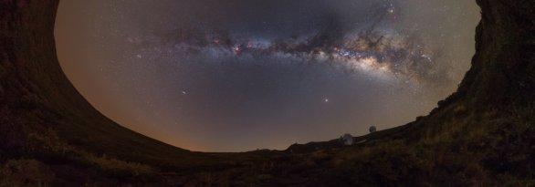 Snímek Mliečny oblúk. Autor: Matúš Motlo