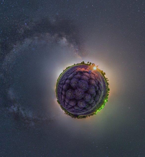 Snímek Levanduľová planéta. Autor: Majo Chudý