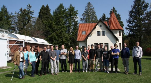 Účastníci semináře 2018 Autor: Martin Mašek