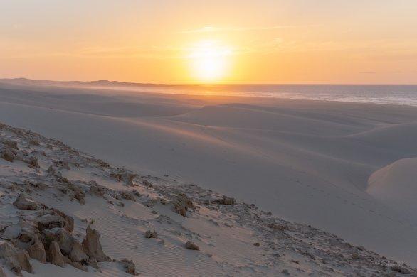 Západ Slunce nad Chaves. Autor: Petr Horálek.