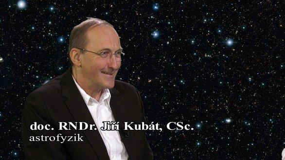 RNDr. Jiří Kubát v pořadu Hlubinami vesmíru Autor: TV Noe