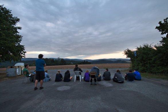 Čekání na východ slunce... Autor: Roman Dvořák