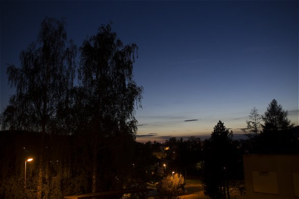 Venuše a Merkur 18. května 2020 Autor: Martin Gembec