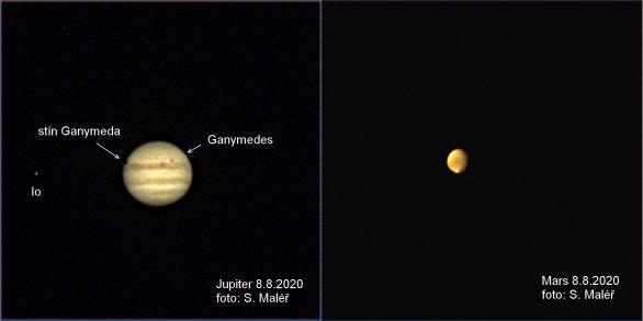 Jupiter a Mars Autor: Stanislav Maléř