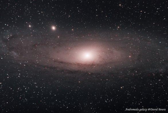 M31 Galaxie Andromeda Autor: David Boura