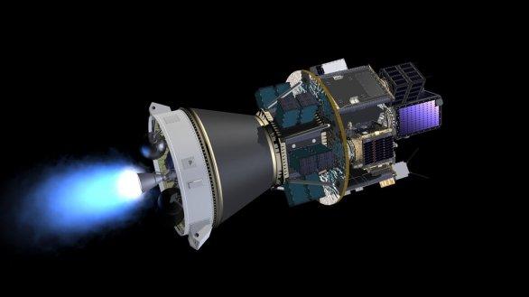 Dispenzer brněnské firmy S.A.B. Aerospace osazený družicemi v rámci mise Vega VV16 v září 2020 Autor: ESA - J. Huart