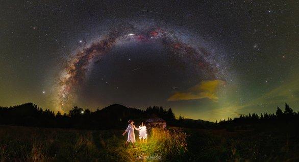 Skvelá noc Perzeidov. Autor: Tomáš Slovinský