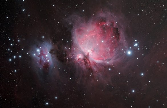 Mlhovina M42 v souhvězdí Orion. Autor: Tomáš Zábranský.