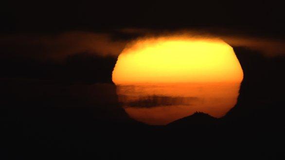 východ Slunce za Sněžkou Autor: Jan Plachý
