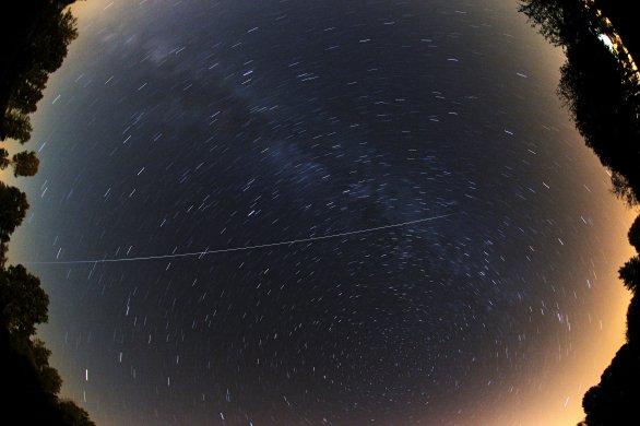 Přelet ISS Autor: Antonín Hušek