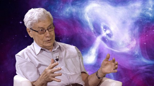 RNDr. Jiří Grygar v pořadu Hlubinami vesmíru Autor: TV Noe