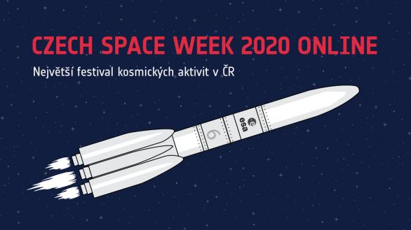 Czech Space Week 2020 online