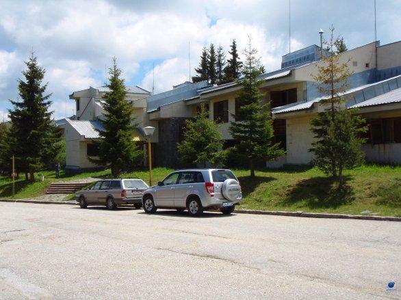 Administrativní budova observatoře Rozhen Autor: Zdeněk Bardon