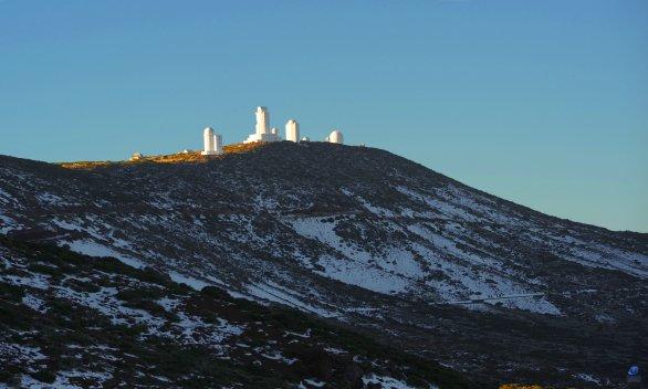 Observatoř Teide (Tenerife) Autor: Zdeněk Bardon