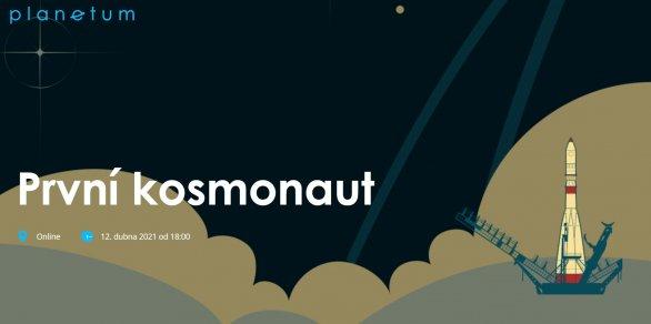 Grafika k online přenosu První kosmonaut Autor: Planetum