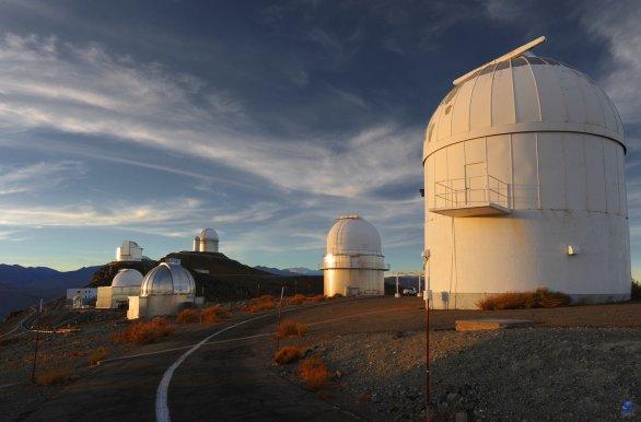 Komplex observatoří ESO, La Silla, Chile Autor: Zdeněk Bardon
