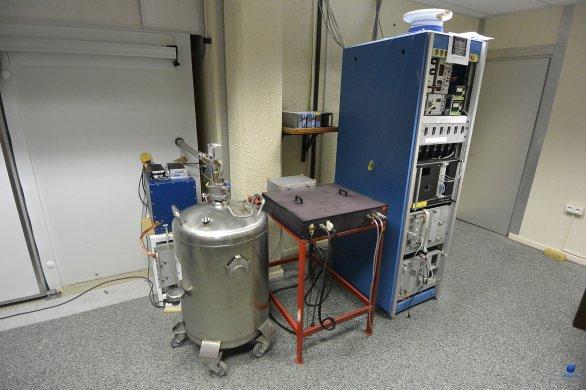 Řídící systém spektrografu FEROS. Dalekohled 2,2 m MPG, ESO, La Silla, Chile Autor: Zdeněk Bardon
