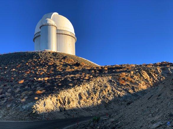 Kopule dalekohledu ESO 3,6 m. ESO, La Silla, Chile Autor: Zdeněk Bardon