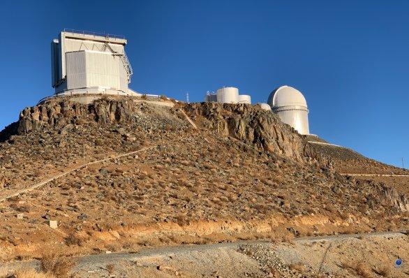Kopule dalekohledu NTT. ESO, La Silla, Chile Autor: Zdeněk Bardon