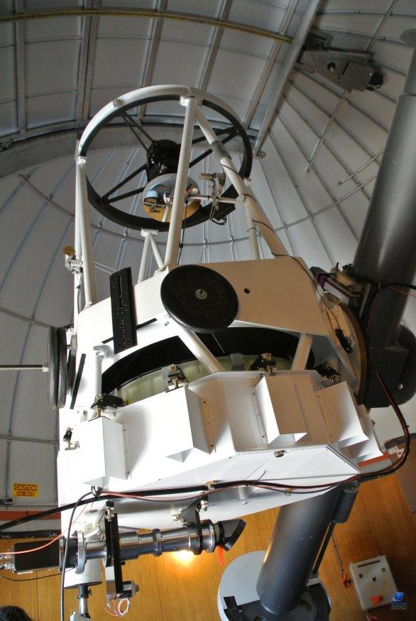 Dalekohled CSS (Catalina Sky Survey). SkyCenter, Mt. Lemmon, Arizona, USA Autor: Zdeněk Bardon