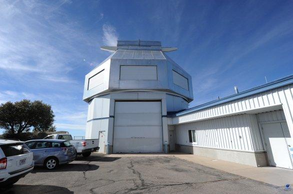 Kopule dalekohledu WIYN. Observatoř Kitt Peak, Arizona, USA Autor: Zdeněk Bardon