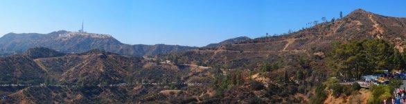 Panorama pohoří Santa Monica. Los Angeles, Kalifornie, USA Autor: Zdeněk Bardon