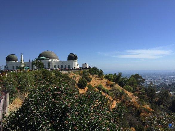 Pohled na Griffith Observatory a část města Los Angeles. Kalifornie, USA Autor: Zdeněk Bardon
