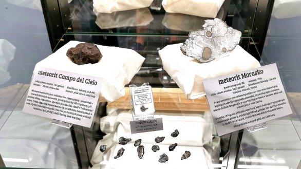 Příklady z výstavy Muzea meteoritů ve Frýdku-Místku