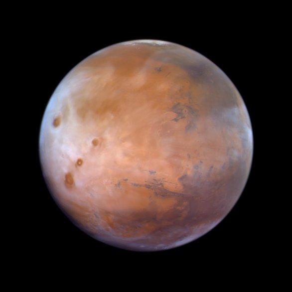 Mars ze sondy Al Amal Autor: UAE Space Agency