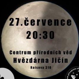 Úplné zatmění Měsíce Autor: Centrum přírodních věd - Hvězdárna Jičín - Úplné zatmění Měsíce
