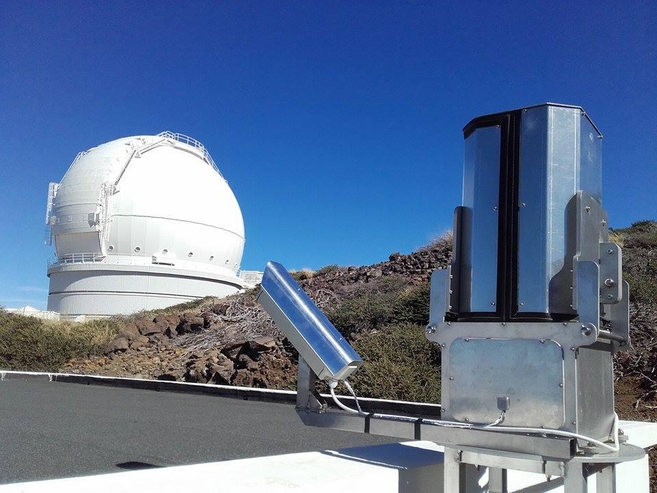 Spektrograf na observatoři Roque de los Muchachos (La Palma). Autor: AGO Modra